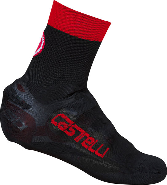 Castelli Belgian Bootie 5 Color: Black/Red