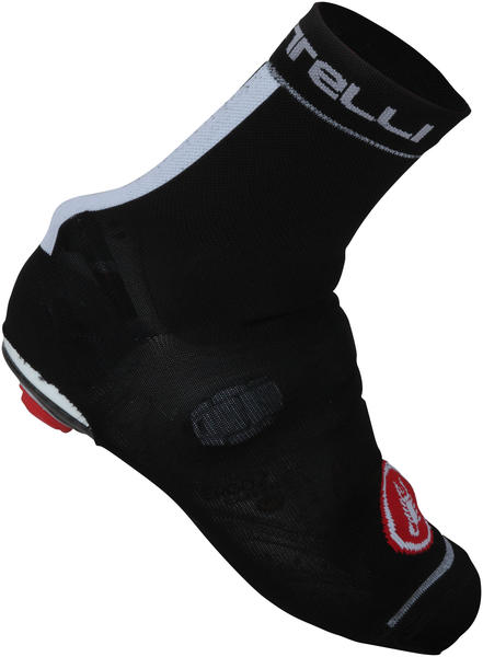 Castelli Belgian Booties 4 - Color: Black/White