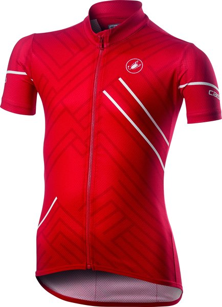 Castelli Campioncino Kid Jersey Color: Red