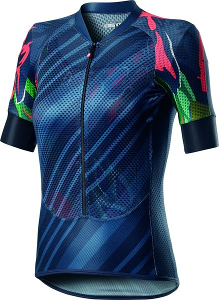 Castelli Climber's W Jersey Color: Dark Steel Blue