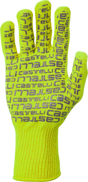 Castelli Corridore Glove Color: Yellow Fluo