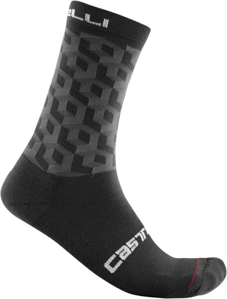 Castelli Cubi 18 Sock Color: Black