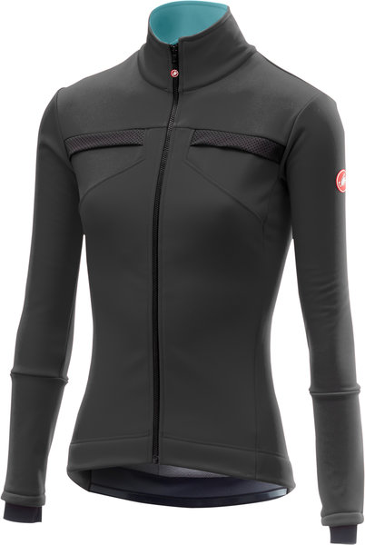 Castelli Dinamica Jacket Color: Dark Gray