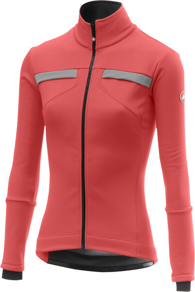Castelli Dinamica Jacket Color: Brilliant Pink