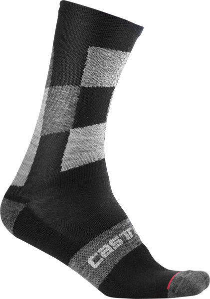 Castelli Diverso 2 18 Sock Color: Black