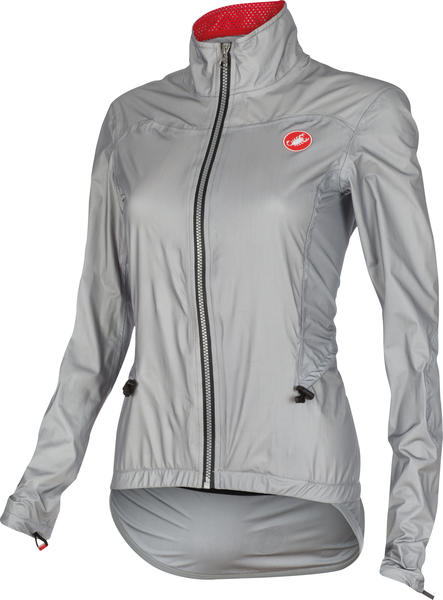 Castelli Donnina Rain Jacket - Women's Color: Grey