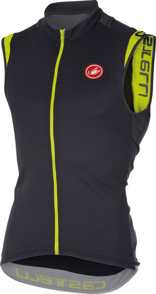 Castelli Entrata 2 Sleeveless FZ Color: Anthracite