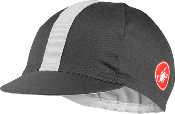 Castelli Espresso Cap Color: Dark Gray