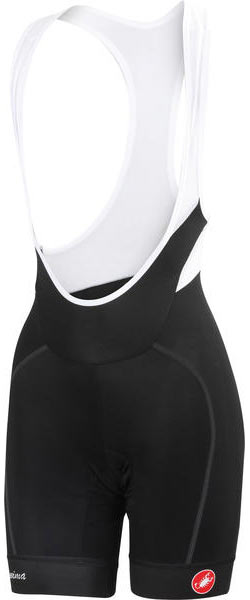 Castelli Velocissima Bibshorts - Women's Color: Black