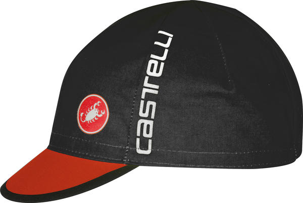 Castelli Free Cycling Cap Color: Black/Red