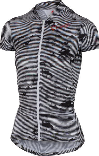 Castelli Sentimento FZ Jersey - Women's Color: Black/White