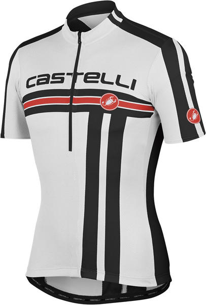 Castelli Free Kid Jersey Color: White