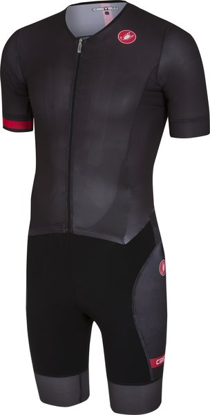Castelli Free Sanremo Suit Short Sleeve Color: Black