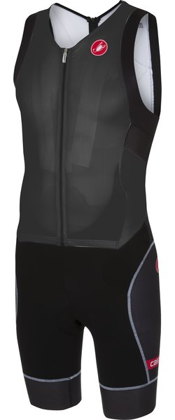 Castelli Free Sanremo Suit Sleeveless Color: Black