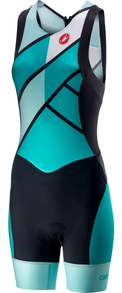 Castelli Free W Tri ITU Suit Color: Turquoise Green