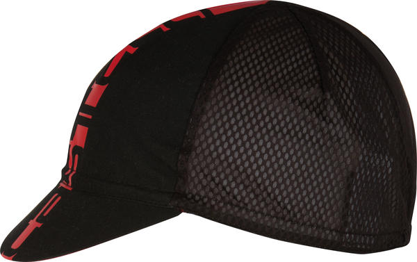 Castelli Inferno Cycling Cap Color: Black/Red