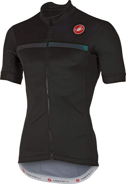 Castelli Iridescente Jersey Color: Black