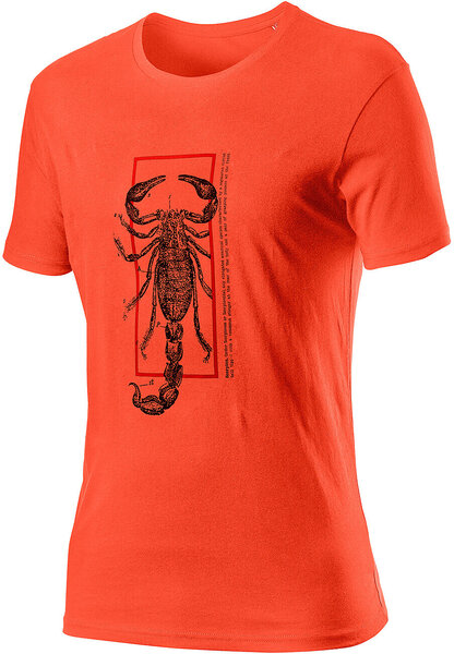 Castelli Logo Tee Color: Burnt Orange