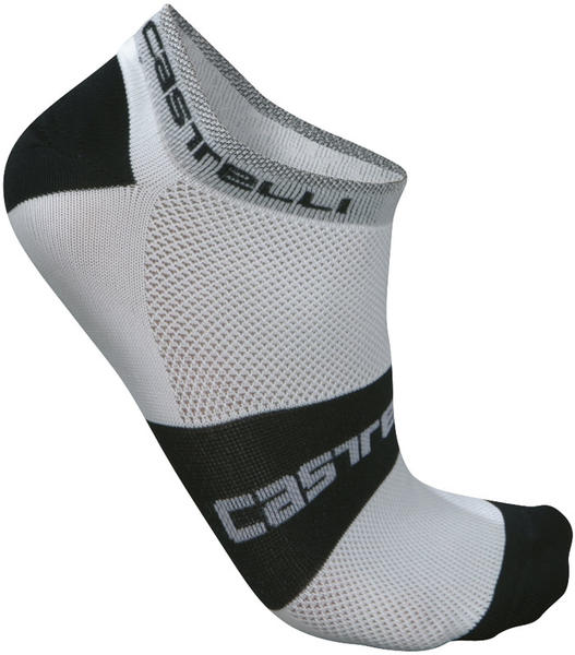 Castelli Lowboy Socks Color: White/Black
