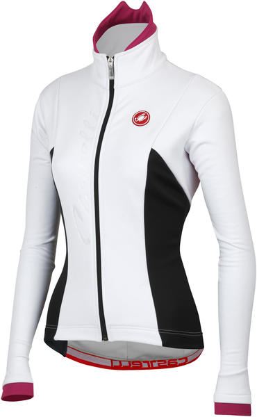 Castelli Magia Jacket - Women's Color: White/Magenta/Black