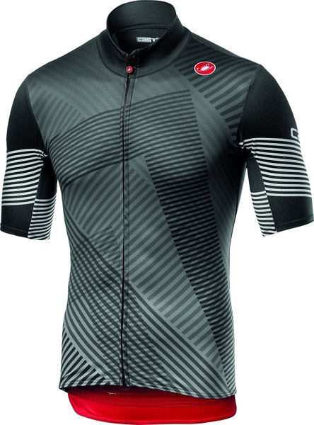 Castelli Mid Weight SS Jersey Color: Dark Gray