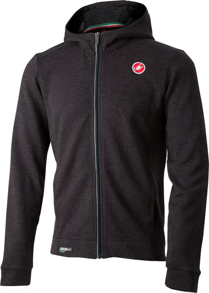 Castelli Milano Full Zip Fleece Color: Melange Light Back