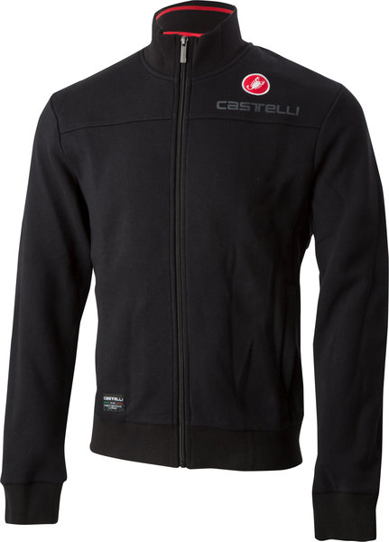 Castelli Milano Track Jacket Color: Black
