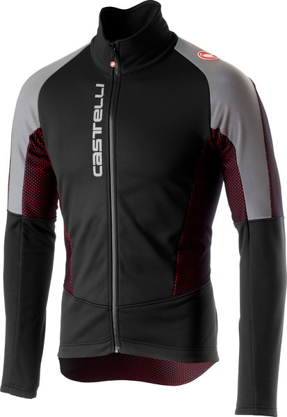 Castelli Mortirolo V Reflex Jacket Color: Black