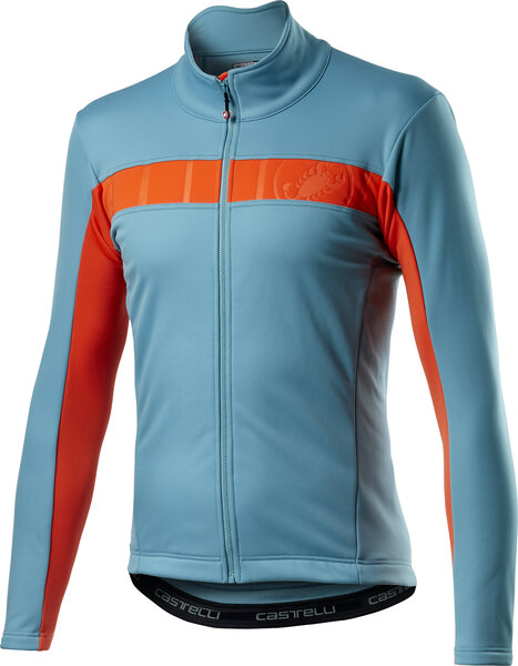 Castelli Mortirolo VI Jacket Color: Celeste