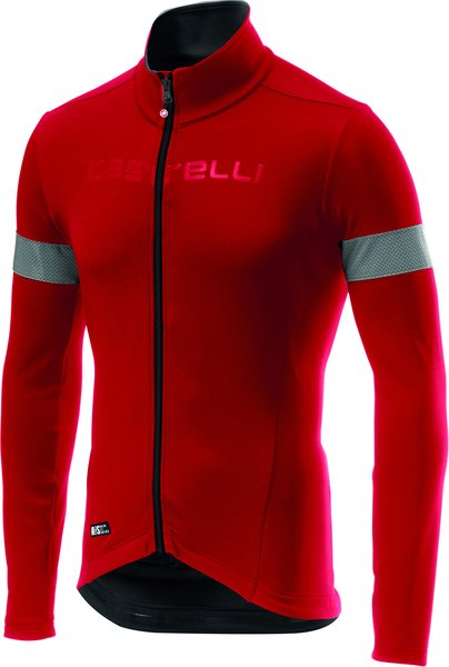 Castelli Nelmezzo RoS Jersey Color: Red/Black