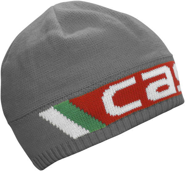 Castelli Ombra Beanie Color: Anthracite/Red