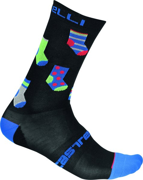 Castelli Pazzo 18 Sock Color: Black