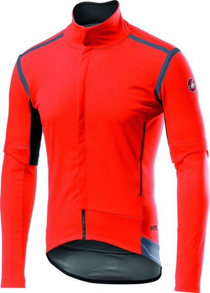 Castelli Perfetto RoS Convertible Jacket Color: Orange