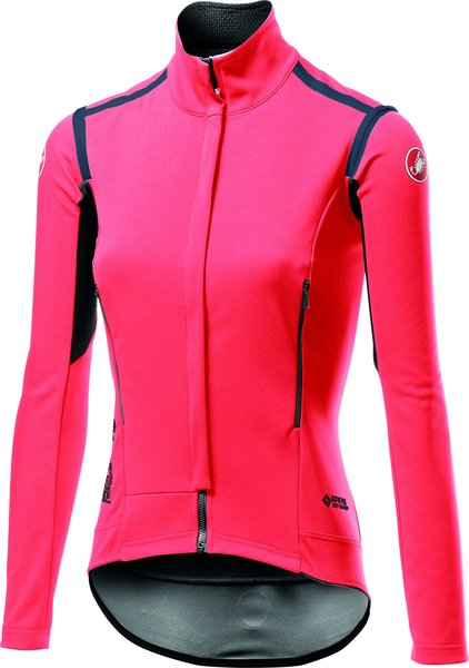 Castelli Perfetto RoS W Long Sleeve Color: Brilliant Pink