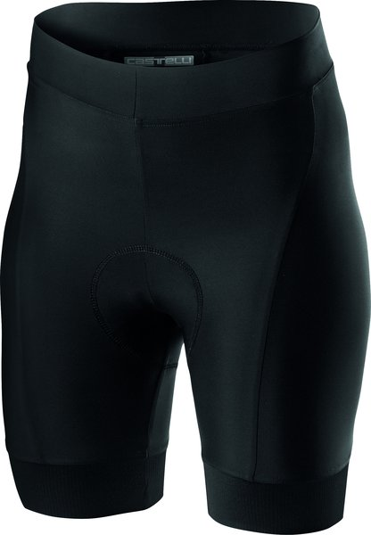 Castelli Prima Short Color: Black/Dark Gray
