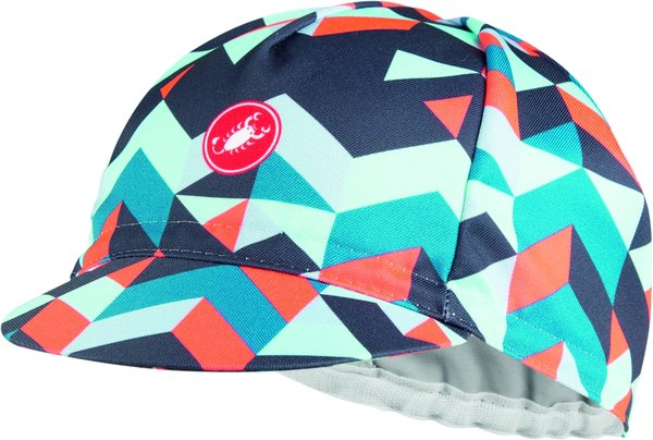 Castelli Prisma 2 Cap Color: Dark Steel Blue/Brilliant Pink