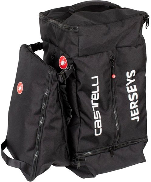 Castelli Pro Race Rain Bag Color: Black