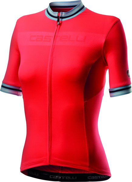 Castelli Promessa 3 Jersey Color: Brilliant Pink