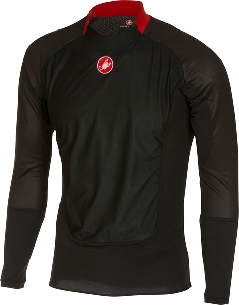 Castelli Prosecco Wind LS Color: Black