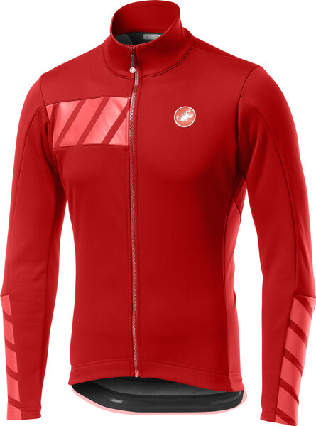 Castelli Raddoppia 2 Jacket Color: Red