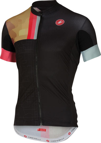 Castelli Rodeo Jersey Color: Black