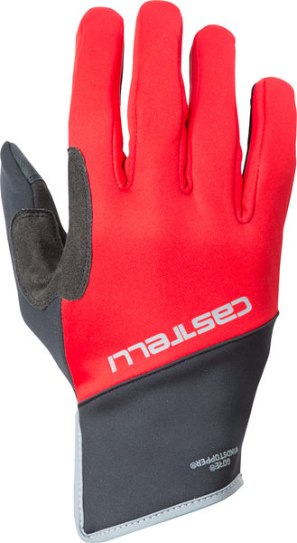 Castelli Scalda Pro Glove Color: Red/Black