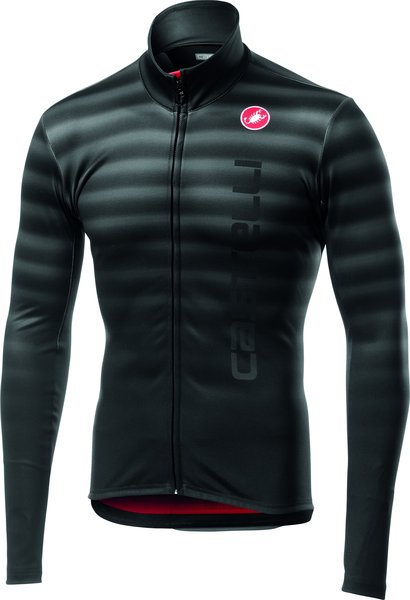 Castelli Scossa Jersey FZ Color: Light Black