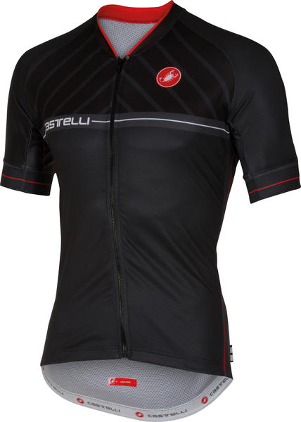 Castelli Scotta Jersey FZ Color: Black