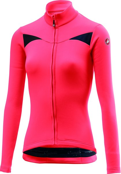 Castelli Sinergia Jersey FZ Color: Brilliant Pink