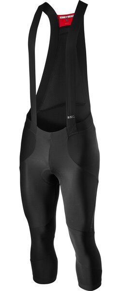 Castelli Sorpasso RoS Bibknicker Color: Black