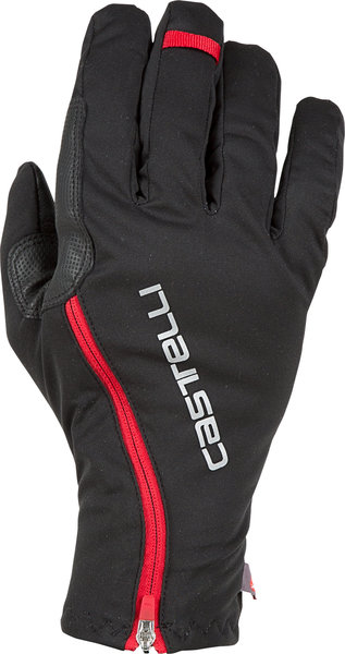 Castelli Spettacolo RoS Glove Color: Black/Red