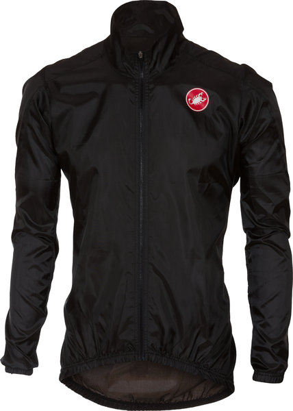 Castelli Squadra ER Jacket Color: Black
