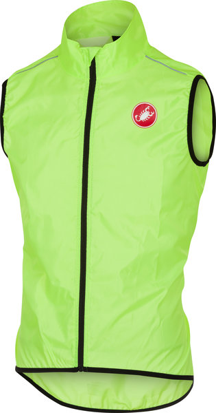 Castelli Squadra Vest Color: Yellow Fluo