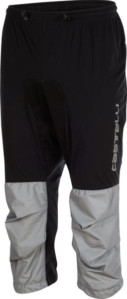 Castelli Tempesta 3/4 Pant Color: Black/Grey